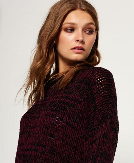 Superdry Twist Tape Funnel Neck Jumper
