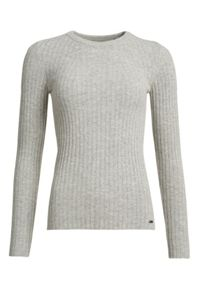 Superdry Luxe Wool Ribbed Knit Jumper