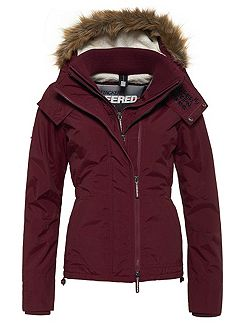 Hooded Fur Sherpa Wind Attacker Jacket