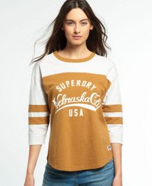 Superdry Football Slub Top