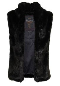 Superdry Luxe Fur Gilet