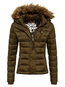 Fuji Slim Double Zip Hooded Jacket