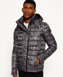Superdry Printed Fuji Double Ziphood