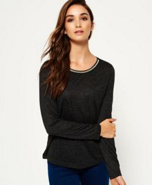 Superdry Sparkle Trim Top