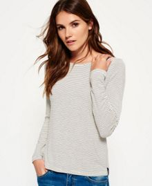 Superdry Nordic Stripe Long Sleeved T-shirt