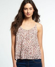 Superdry Atlanta Print Cami Top