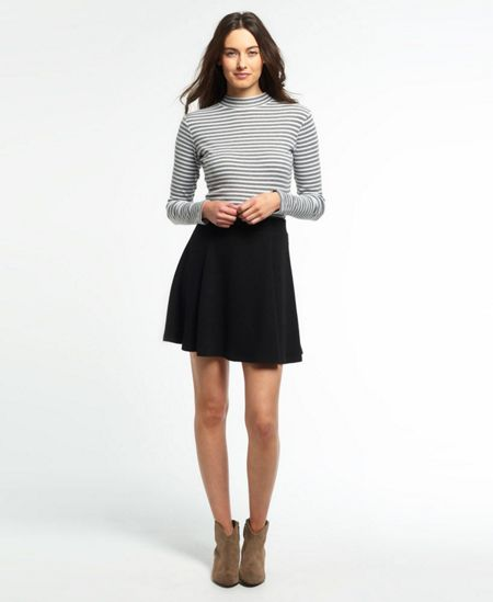Superdry Christa Jacquard Skater Skirt