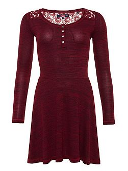 Peggy Grandad Skater Dress