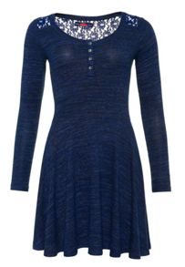 Superdry Peggy Grandad Skater Dress