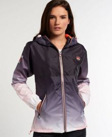 Superdry Tri Colour Zip Thru Spray Cagoule