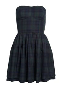 Superdry Savannah Prom Plaid Dress