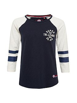 Tri League Raglan Block T-Shirt
