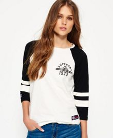 Superdry Tri League Raglan Block T-Shirt