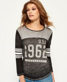 Superdry USA 1962 Burnout Varsity T-Shirt