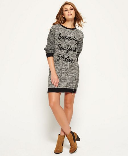 Superdry Embroidered Cut & Sew Dress