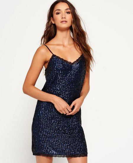 Superdry Premium Sequin Cami Dress