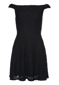 Superdry Katerina Bardot Lace Dress