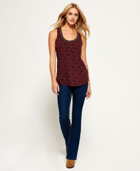 Superdry Alexandra Beaded Tank Top