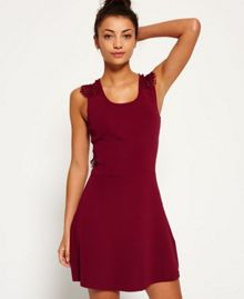 Superdry Alina Lace Knitted Dress
