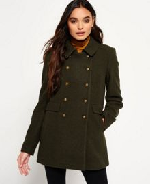 Superdry Military Pea Coat