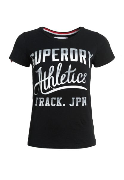 Superdry Trackster Kiss Print T-shirt