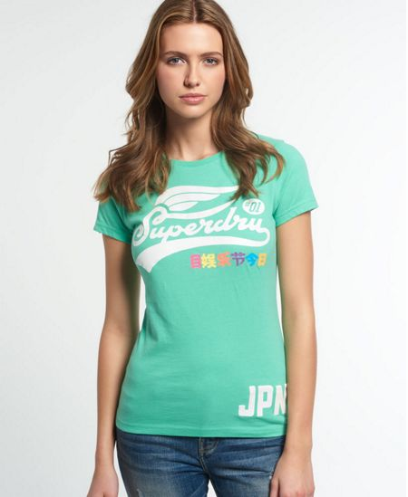Superdry High Flyers Rainbow T-shirt