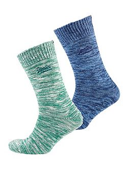 Big Hiker Sock Double Pack