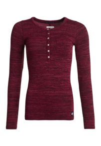 Superdry Essentials Twist Yam Grandad Top