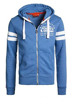 Authorised specialists zip hoodie