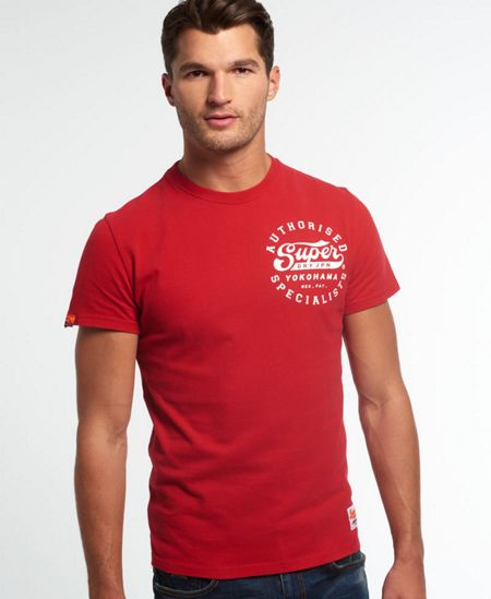Superdry Authorised specialists t-shirt