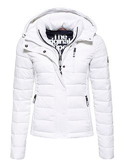 Hooded Fuji Slim Double Jacket