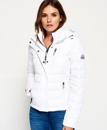 Superdry Hooded Fuji Slim Double Jacket