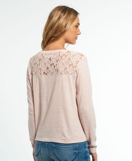 Superdry Essential Lace Slouch Top