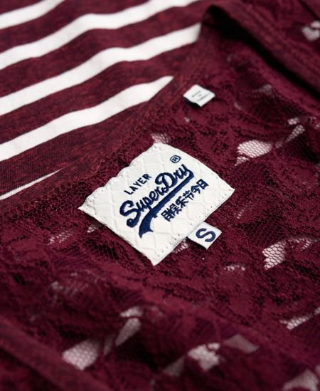 Superdry Super Sewn Lace Vest Top