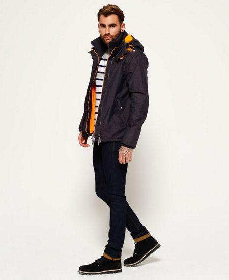 Superdry Pop Zip Hooded Artic Windcheater Jacket