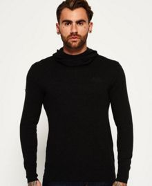 Superdry Orange Label Knit Hoodie