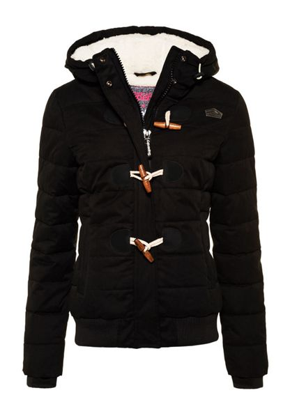 Superdry Microfibre Toggle Puffer Jacket