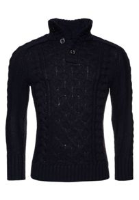 Superdry Mega Cable Henley Jumper