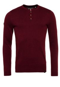 Superdry Orange Label Knit Grandad Jumper