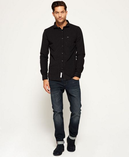 Superdry Premium Cut Away Cord Shirt
