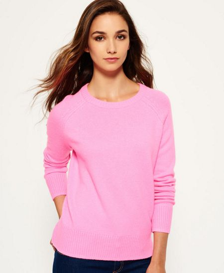 Superdry Downtown Raglan Knit Jumper