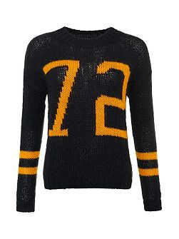 Madison Varsity Knit Jumper