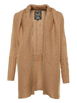 Haden Cable Waterfall Cardigan