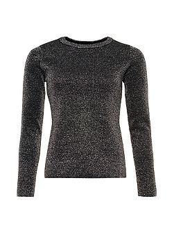 Metallic Sparkle Knit Jumper