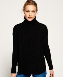 Superdry Cable Cape Jumper
