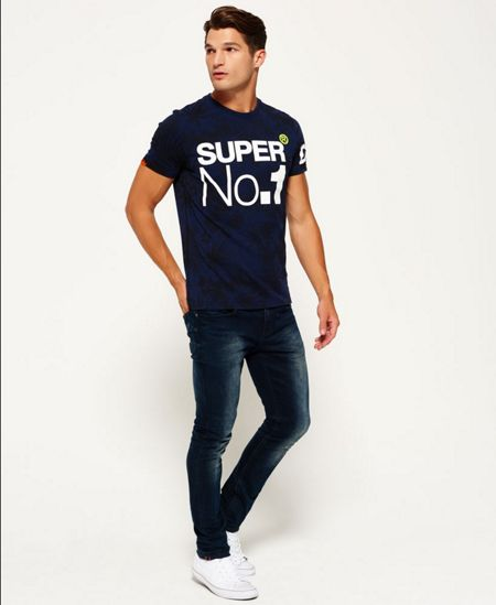Superdry Oversized No1 T-shirt