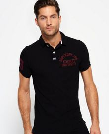 Superdry Super State Pique Polo