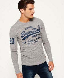 Superdry Shirt Shop Long Sleeved T-Shirt