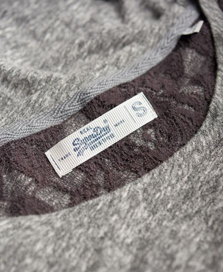 Superdry Essentials Lace Slouch Top