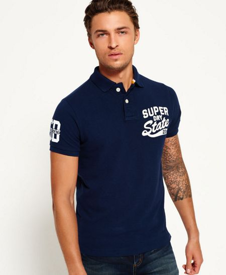 Superdry Super State Pique Polo Shirt